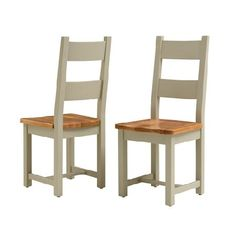Houghton French Grey Ladderback Dining Chair Quality wooden furniture at great low prices from PineSolutions.co.uk. Get Free Delivery and Exchanges on all orders. http://www.MightGet.com/january-2017-11/houghton-french-grey-ladderback-dining-chair.asp