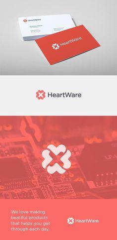 https://www.behance.net/gallery/24816599/HeartWare-Branding