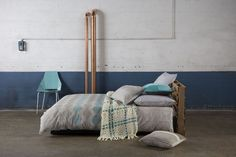 Moko Multi Quilt Cover Set by KAS Room Get into the groove with the Moko Multi quilt set from the new KAS Room range. The nature inspired pattern is printed on Quilt Cover Sets, Quilt Sets, European Pillows, Dreams Beds, Homewares Online, Love Your Home, Moka, Guest Bedrooms, Beautiful Bedrooms