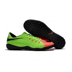 Kopačky Lotto Nike Hypervenom Phelon III TF Zelená oranžový Černá Leather e55709d07b659