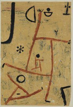 Mit besonderen Köpfen , 1938, Paul Klee