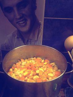 Preparation for Orange 1930's Marmalade