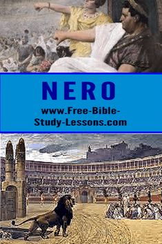 Nero was rotten to the core. He tried to destroy Christianity and was himself destroyed. A lesson for today's persecutors. #nero #persecution #christianity #rome Bible Study Lessons, Free Bible Study, Beast Of Revelation, Justified By Faith, Enemy Of The State, Bible Commentary, The Great Fire, Number Two, Persecution