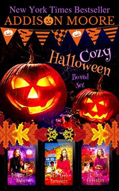 Get Book Cozy Halloween Cozy Mystery Boxed Set Author Addison Moore, Halloween Books, Halloween Themes, Addison Moore, Mystery Box, Mystery Thriller, Read Box, Non Fiction, Cozy Mysteries, Got Books