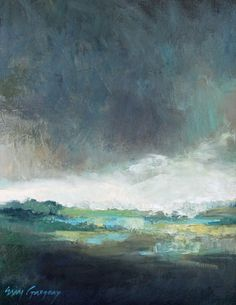 landscape paintings - paintings by erin fitzhugh gregory: