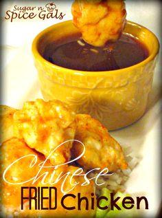 Chinese Fried Chicken on MyRecipeMagic.com #chinese #chicken