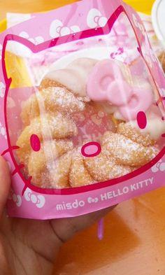 (1) Mister Donut×Hello Kitty ( Japan ) - Hello,beautiful world.   Sanrio   Pinterest