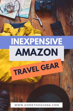Our favorite travel gear from Amazon under $50 is super inexpensive and will make your travel so much easier and better. We've included everything from silky eye masks and travel photography tools to accessories for style and safety for international solo travel. You won't want to miss these top 20 travel gear essentials! Packing List For Travel, Packing Tips, Must Have Travel Accessories, Adventure Gear, Camping Guide, Travel Gadgets, Hiking Gear, Travel Essentials, Solo Travel