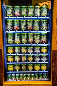 Sick of eating only candy and junk food from your vending machines? Why don't you have a salad...in a jar? Farmer's Fridge, a startup in Chicago, makes the salads, which start at $8, fresh daily and serves them in an airtight jar.