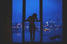 Glow Blog ☽ #photography #blue #night