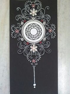 Quilling clock | Quilling projects | Pinterest