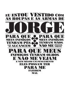 Amém Jorge Ben, Saint George, Illustrations And Posters, Samba, Tattoo Studio, I Tattoo, Sleeve Tattoos, Philosophy, Spirituality