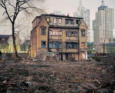 Phantom Shanghai - Greg Girard.  House on Yuyuan Lu, 2001