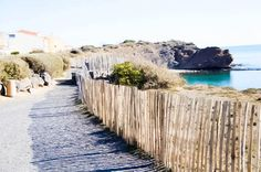 One of our many lovely local beaches, at Cap d'Agde