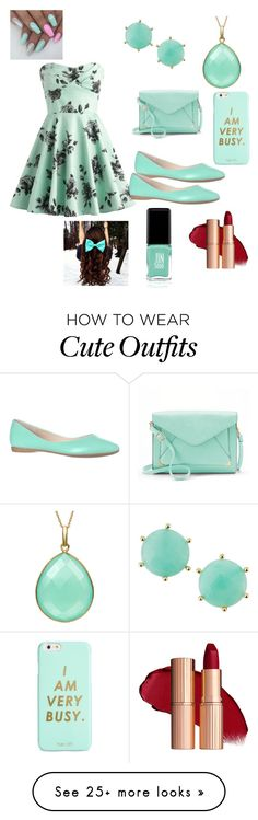 """Another teal outfit"" by vballgirl03 on Polyvore featuring Apt. 9, ban.do, Panacea and Jin Soon"