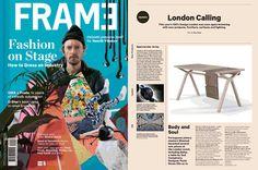 Frame publications, our blosa desk! #frame #press #bolsa #desk #wewood