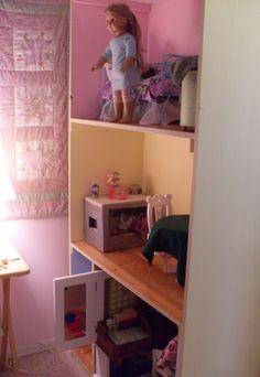 american girl dollhouse | American Girl doll house