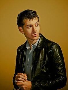Credit: Phil Fisk for the Observer Alex Turner photographed at Maidstone Studios in Kent for a big
