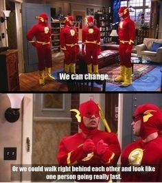i love big bang theory. it's hilarious. and nerdy. i love big bang theory. The Big Theory, Big Bang Theory Funny, Big Bang Memes, Cosplay Make-up, Flash Cosplay, The Big Bang Therory, Ace Attorney, Zack E Cody, Lol