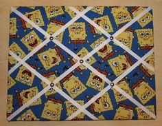 Nickelodeon Spongebob Squarepants Yellow Blue by RibbonsofMemories