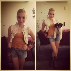"""Peyton List """"Outfit Of The Day"""" November 8, 2012"""