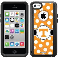 University of Tennessee Polka Dots 2 Design on OtterBox Commuter Series Case for Apple iPhone 5c