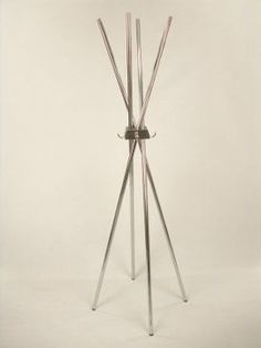 Proman Studio4 Coat Rack with Leather Accent modern coat stands and umbrella stands