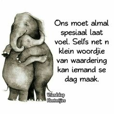 Cute Images, Cute Pictures, Beautiful Pictures, Elephant Art, Baby Elephant, Miss You Mom, Goeie More, Afrikaans Quotes, Living Water