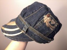 made from an old pair of jeans!