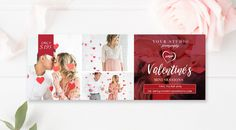 Valentines Facebook Timeline - Valentines Facebook Cover - Valentines Mini Sessions - Photographer Templates - INSTANT DOWNLOAD! by ByStephanieDesign on Etsy