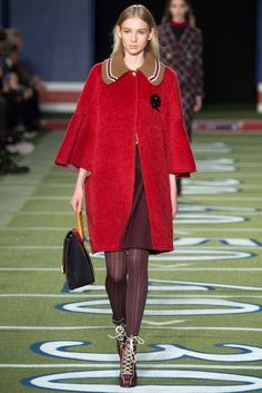 Tommy Hilfiger Fall 2015 Ready-to-Wear Fashion Show - Nastya Sten