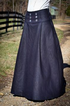 Eager Hands:  ~ Long Sailor Skirt