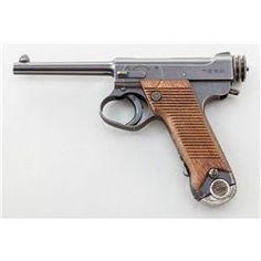 Japanese Type 14 Nambu Semi-Automatic Pistol