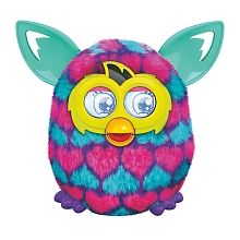 Furby Boom Sweet - Corazones Rosa Orejas Azules
