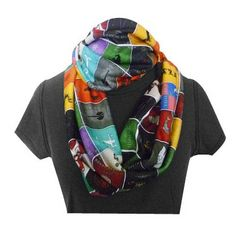 Game Of Thrones gift infinity geek scarf game of by RoobyLane, £25.00
