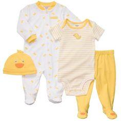 Carter's® 4-pc. Yellow Duck Layette Set - newborn-9m