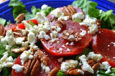 Roasted Beet Salad with Walnuts and Goat Cheese | Recipe | Roasted ...