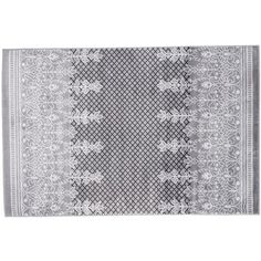 Portsmouth Home Royal Garden Floral Rug ($305) ❤ liked on Polyvore featuring home, rugs, grey, grey area rug, gray area rug, grey rug, pile rug and stain resistant area rugs