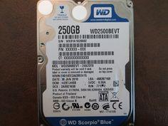 Western Digital WD2500BEVT-24A23T0 DCM:HEBTJHBB 250gb Sata - Effective Electronics