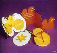 Объемная открытка с цыплятами и курицами. Обсуждение на LiveInternet - Российский Сервис Онлайн-Дневников