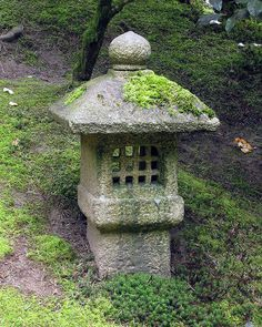 stone lanterns in japanese gardens - Google Search