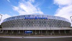 Après le stade MMArena du Mans, le stade Allianz Riviera de Nice est la deuxième enceinte sportive française a bénéficier du naming (qui porte le nom d'un annonceur privé). #stade #Nice