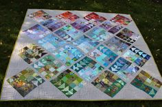 Quilting is more fun than Housework...: Blogger Quilt Festival - Scrappy Category