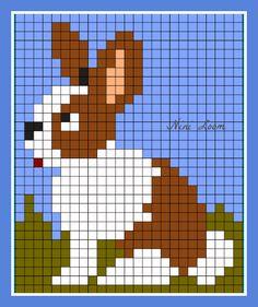 Canvas Patterns, Quilt Patterns, Stitch Patterns, Knitting Machine Patterns, Knitting Charts, Cross Stitch Letters, Cross Stitch Animals, C2c Crochet, Tapestry Crochet