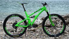 Yeti SB 4.5c DVO XTR ENVE mean and green - jetski77's Bike Check - Vital MTB