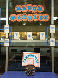 Literary Hoots: Library Display: March Madness