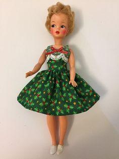 Christmas Dress For Little Miss Revlon, Jill, Ideal Tammy, Or Vintage Barbie   Dolls & Bears, Dolls, By Brand, Company, Character   eBay!