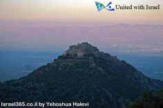 Take a look at Nimrod's Castle in Israel's Golan Heights! This castle was built in the 13th century to protect Damascus from invading Crusaders along an important highway running from Lebanon to Tiberias.