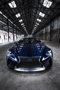 Lexus LF-LC Blue Concept Picture #2