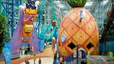 Nickelodeon Universe is Coming to the Meadowlands